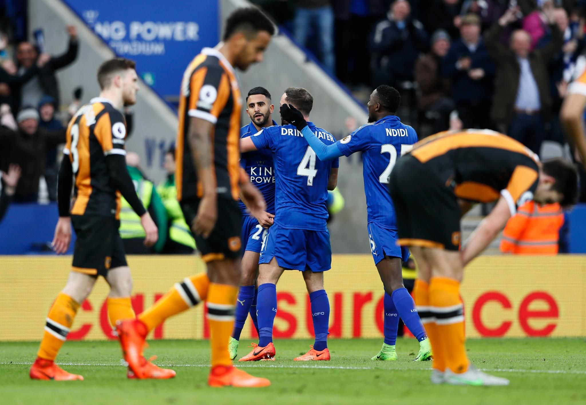 Ndidi Shines, Musa Dropped As Leicester Beat Hull; Success Loses With Watford