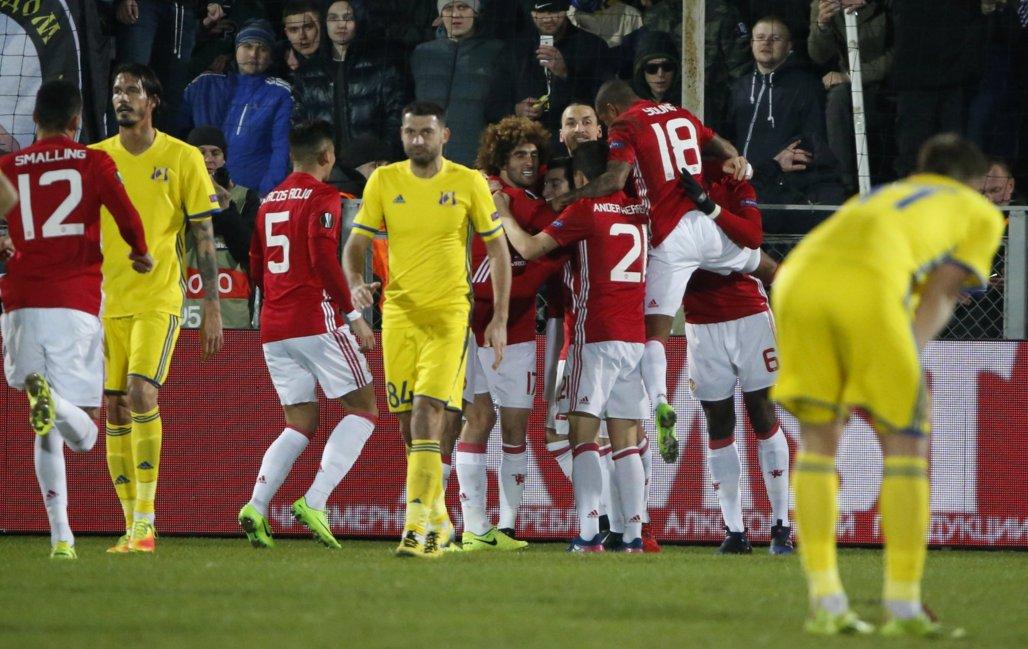 Europa: Rostov Hold Man United As Anderlecht, Copenhagen Win