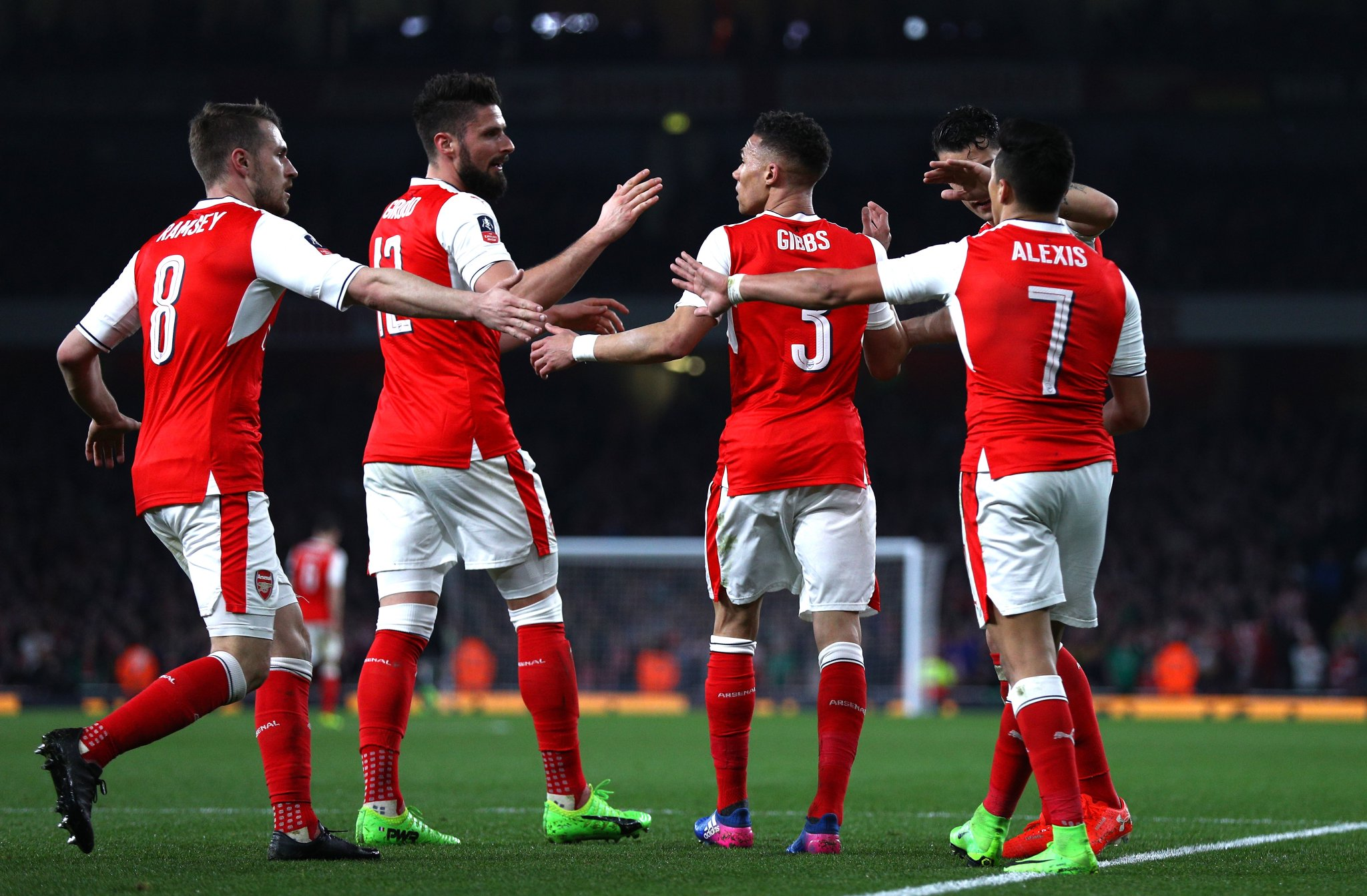 Iwobi Benched As Arsenal Thrash Lincoln, Reach FA Cup Semis