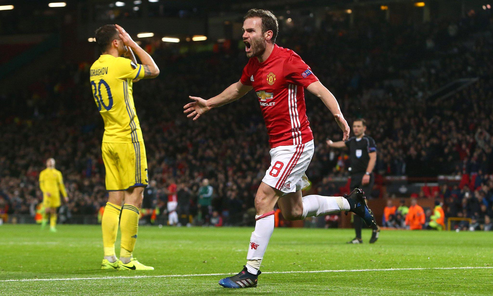 Europa: Pogba Injured As Man United Reach Q/Finals; Lyon, Ajax Through
