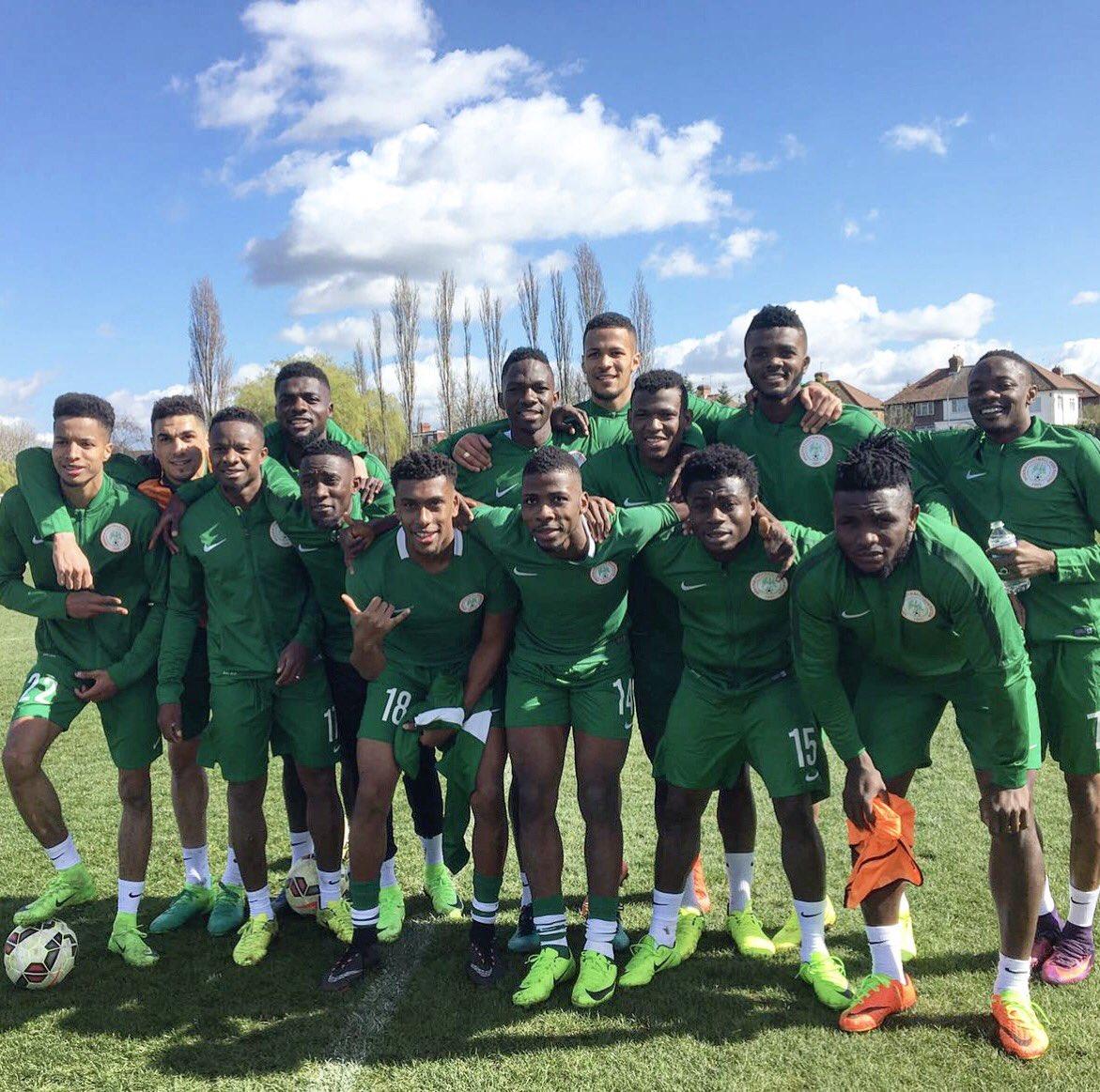 Complete Sports Nigeria | London Friendlies: Super Eagles ...