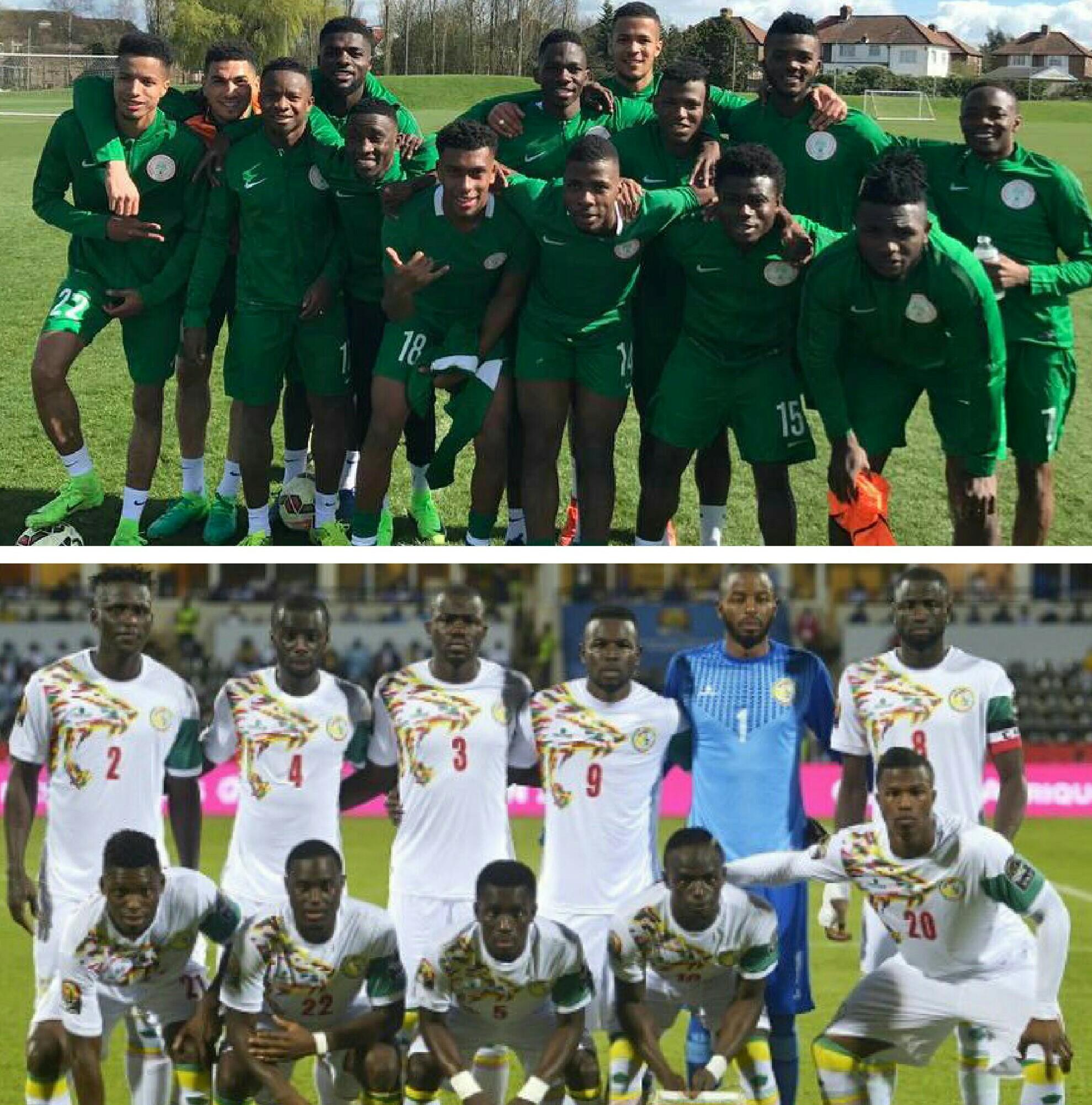 NIGERIA 7 – 4 SENEGAL: Super Eagles Gun To Extend Dominance Over Teranga Lions In London Friendly