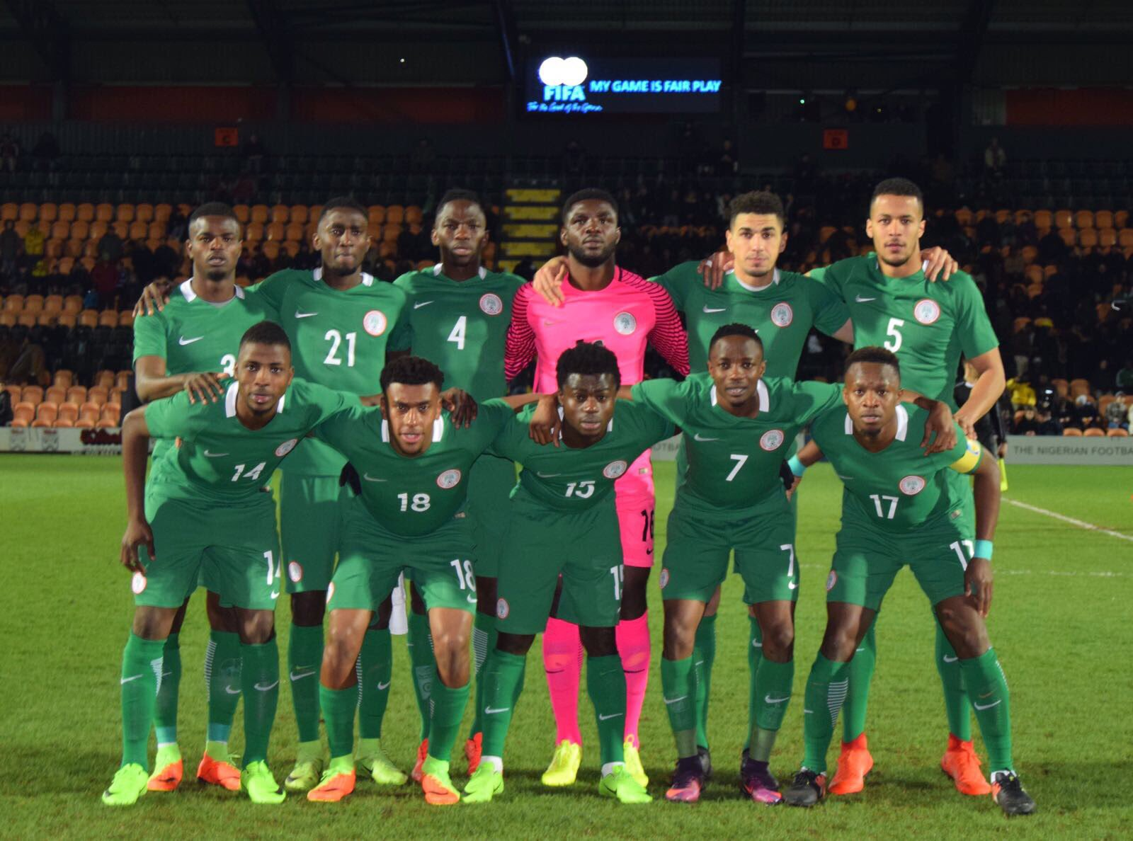 Rohr: Eagles Excellent Without Moses, Mikel Vs Senegal; Bring On Burkina