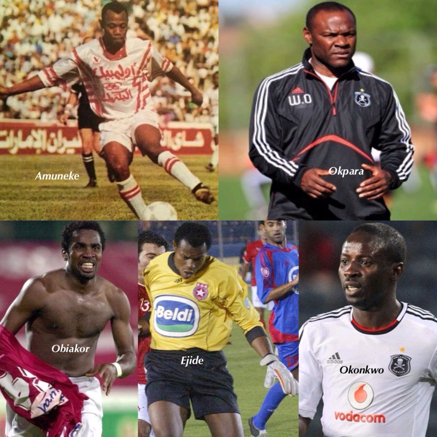 'Brothers Killers'! 5 Nigerian Players Who Eliminated Nigerian Clubs From CAF Competitions