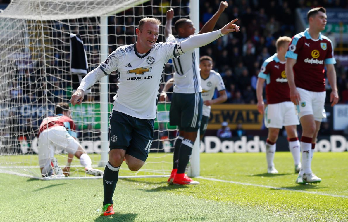 Martial, Rooney Score As Man United Ease Past Burnley