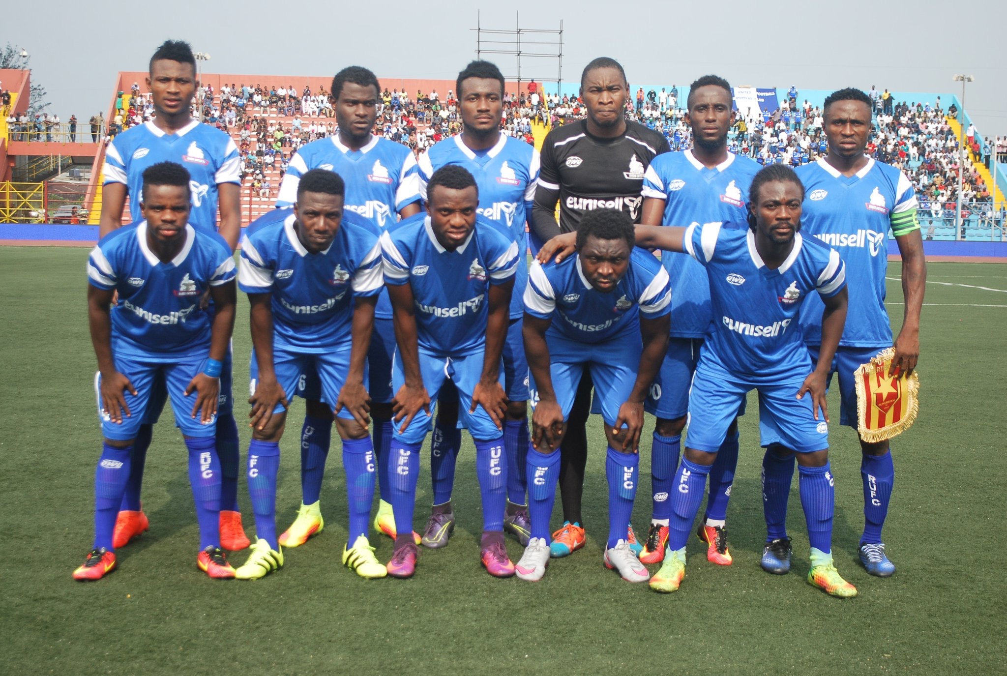 Cafcc Playoff 1st Leg Rivers United Pip Rayon Sport 2 0