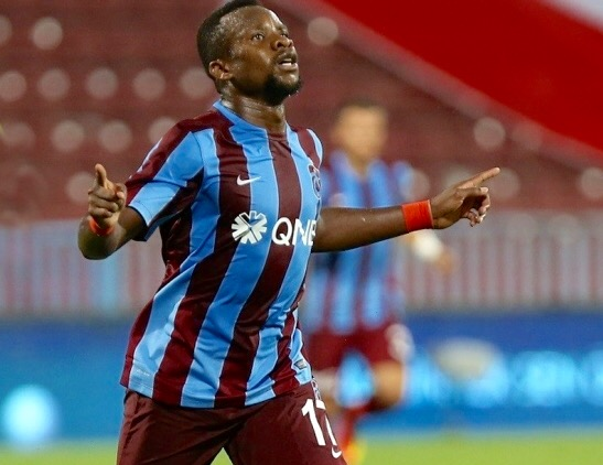 Onazi Returns To Trabzonspor Training After Knee Knock, Hails New Super Eagles Kits