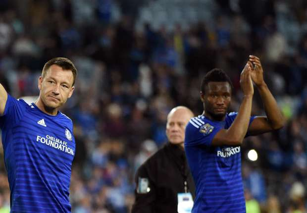 "Mikel Pays Tribute To ""True Football Legend"" Terry"