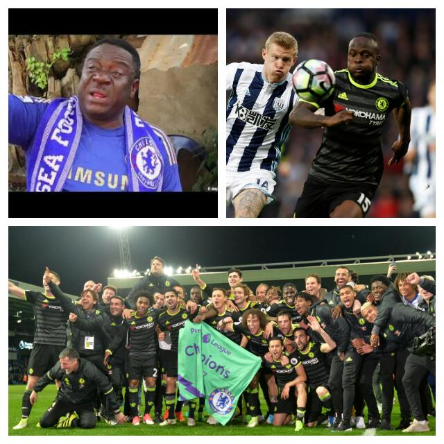 Chelsea Fan Mr Ibu: Our Title Was On Loan At Leicester, Moses Is Africa's Best