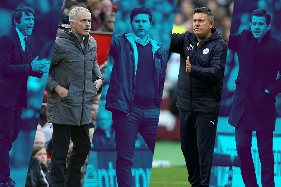 Conte, Mourinho, Pochettino Nominated For EPL April Best Manager Award