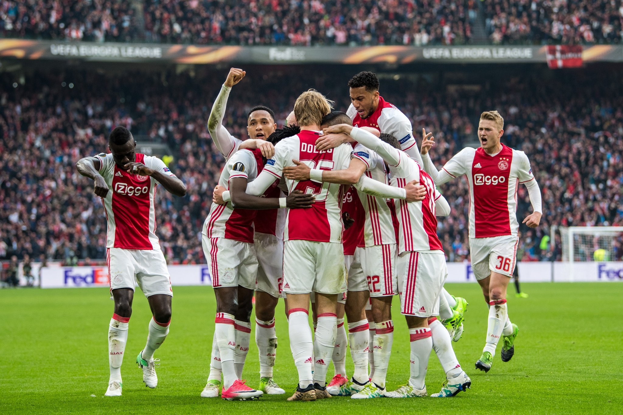 Ajax Stun Lyon, Set For Europa League Final - Complete Sports Nigeria