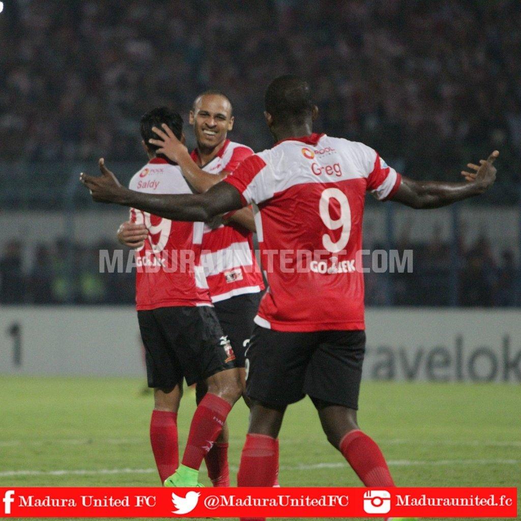 Odemwingie Scores Goal No.5 As Madura United Win