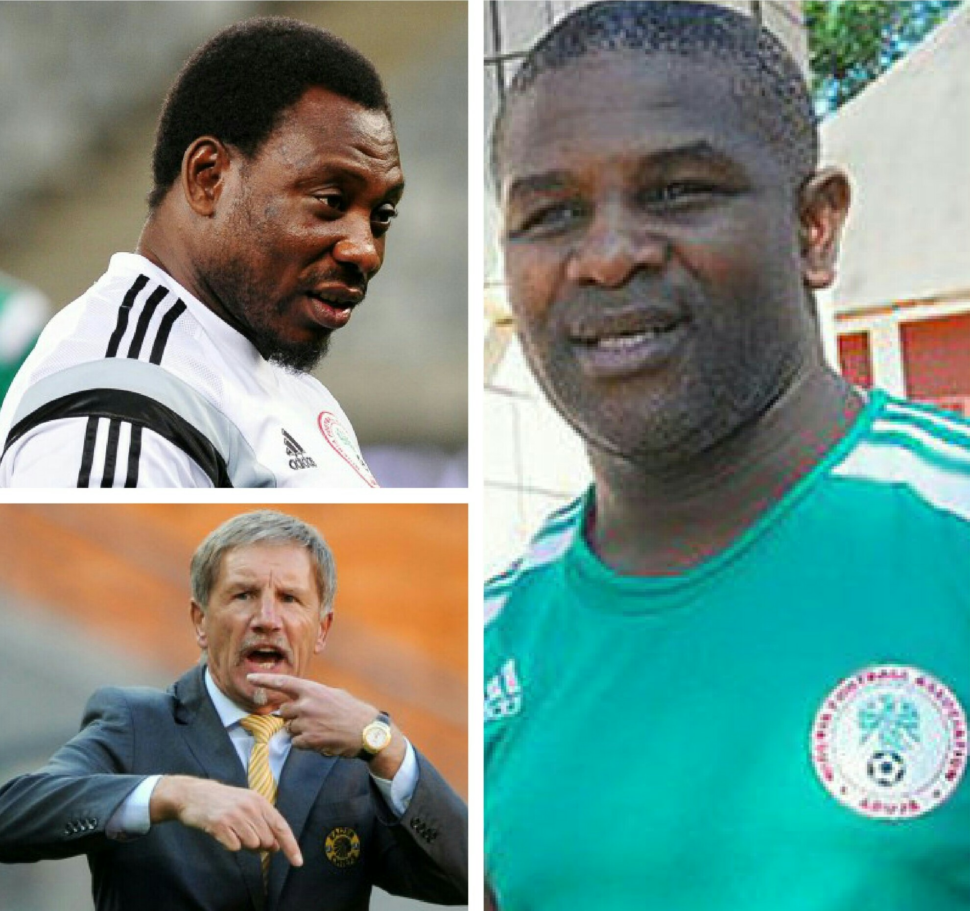 Idah: I Was Like A Slave To Amokachi In Super Eagles; Baxter Is A Noise Maker