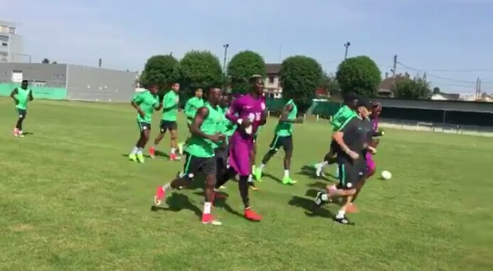 Super Eagles Resume Training In Paris Ahead Togo Friendly