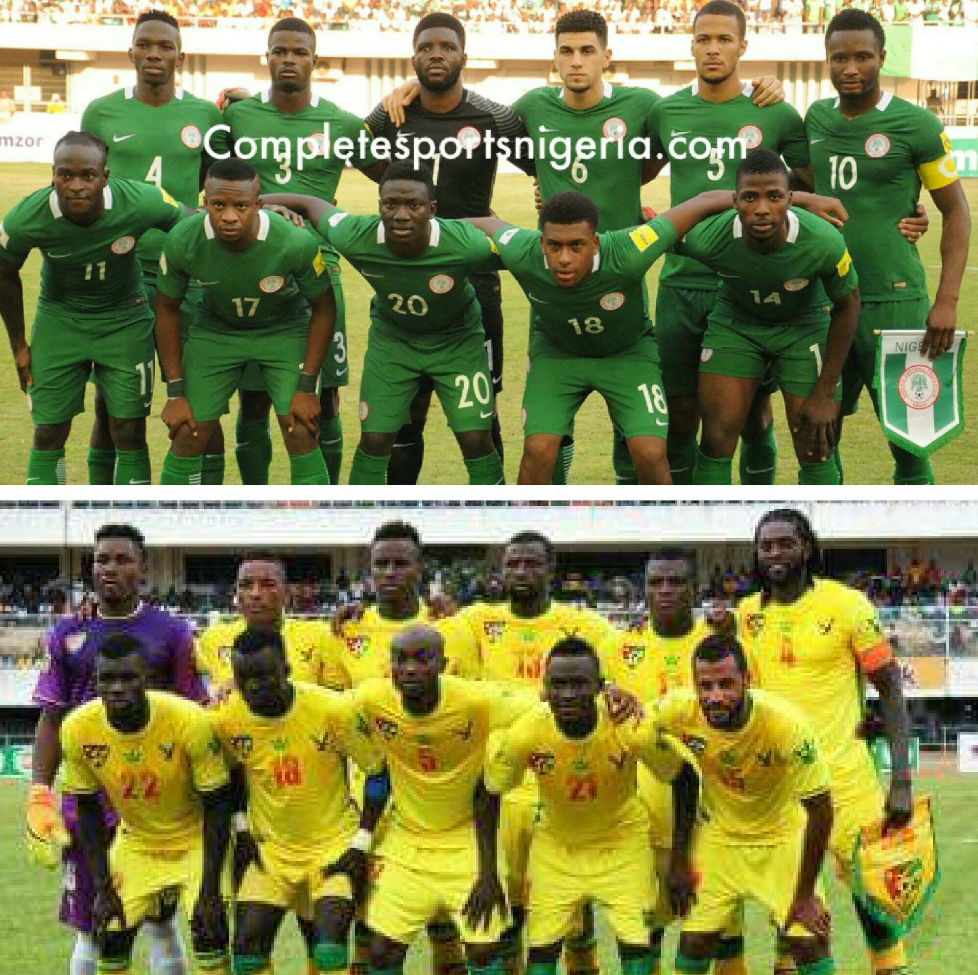 Nigeria 6 – 3 Togo: Super Eagles Look To Extend Dominance Over Determined Hawks
