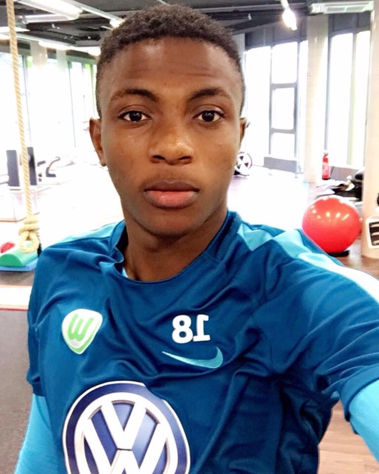 Osimhen Marks Bundesliga Debut With Yellow Card As Wolfsburg Draw
