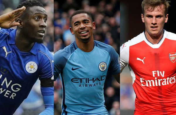 Ndidi, Jesus, Holding Named EPL's Breakout Stars Of 2016/2017