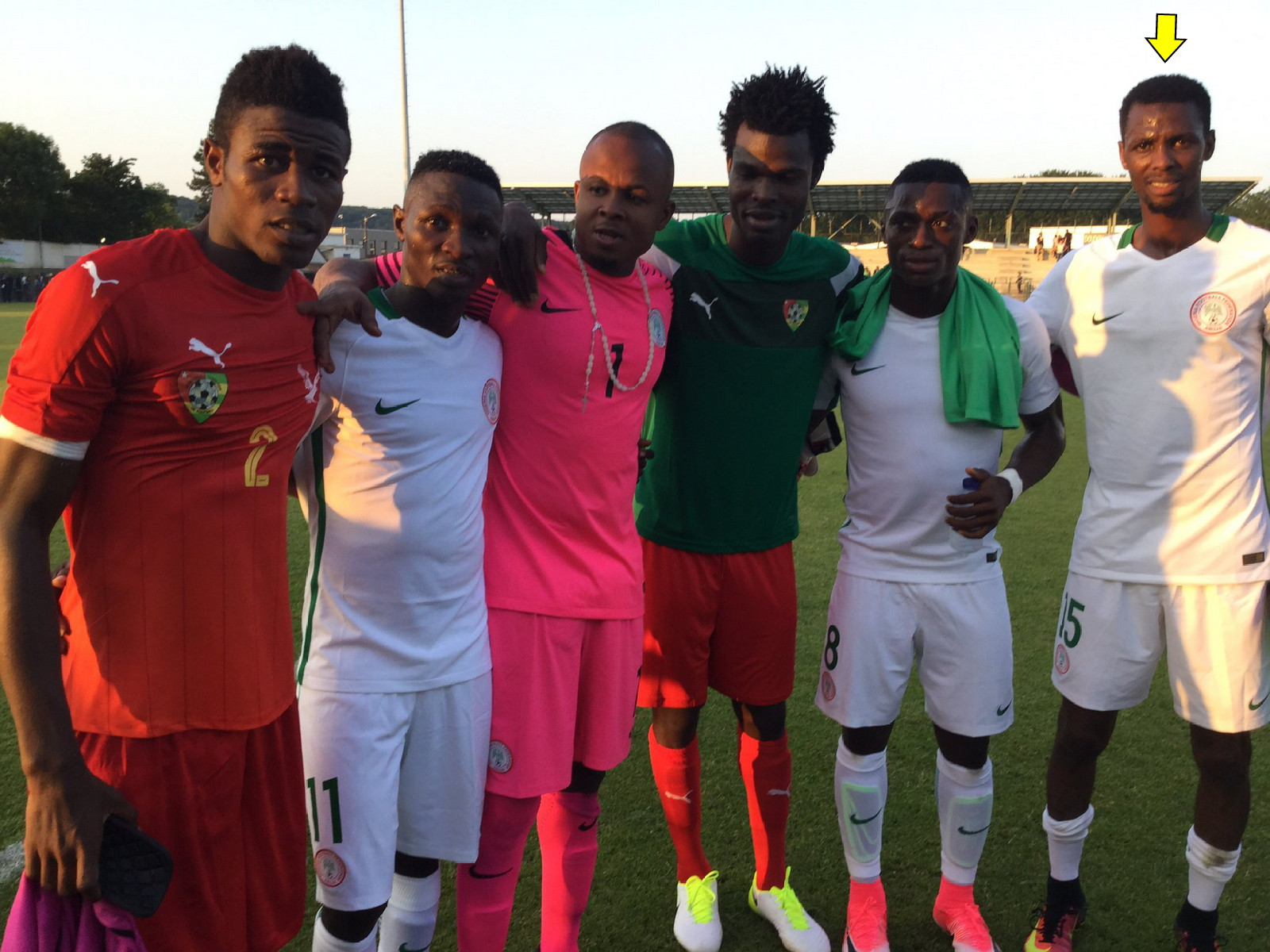 Alhassan: Making Nigeria Squad For South Africa Clash Massive Achievement For Me