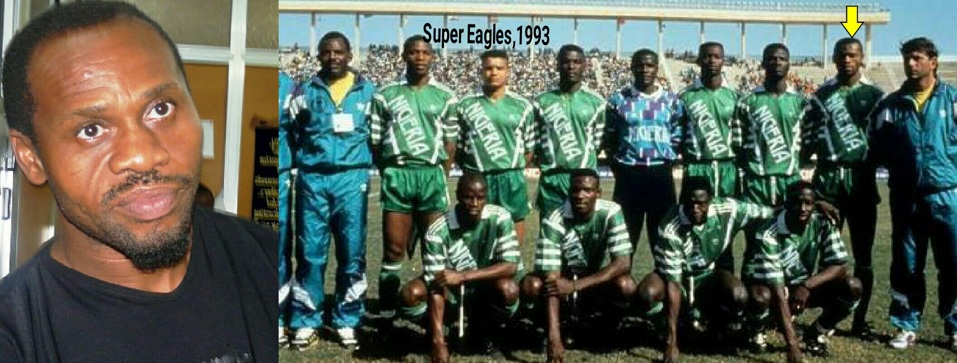 Ezeugo: Why I Walked Former Sports Minister Akinyele Out of Eagles' Dressing Room Vs Bafana In 1993