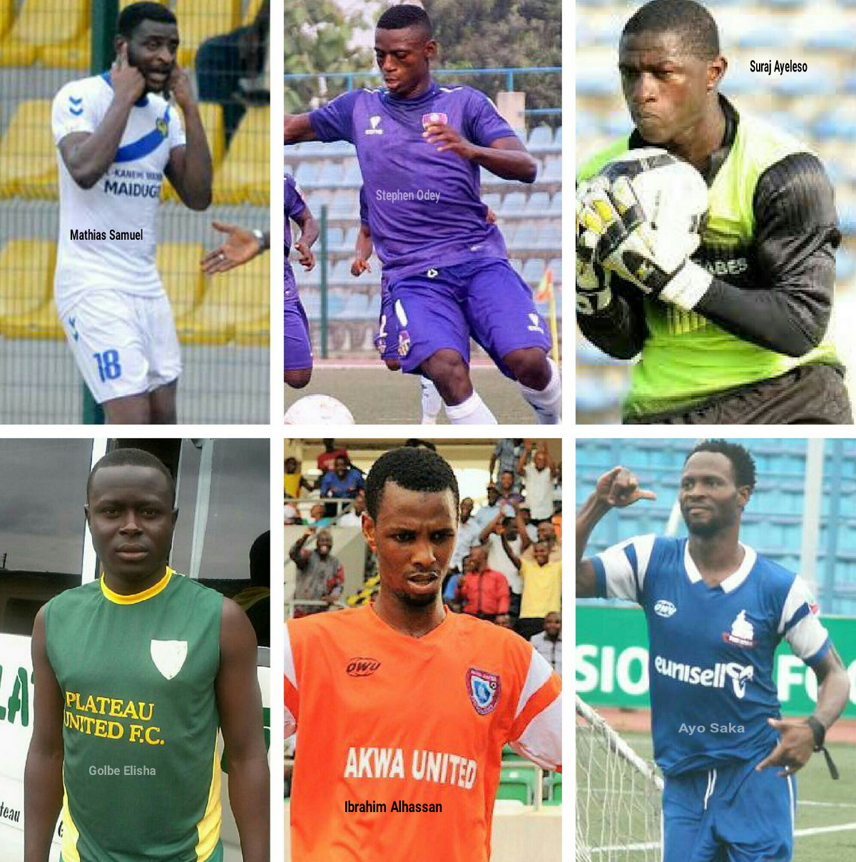 TERRIFIC DOZEN! 12 Standout Players Of  2016/2017 NPFL Season