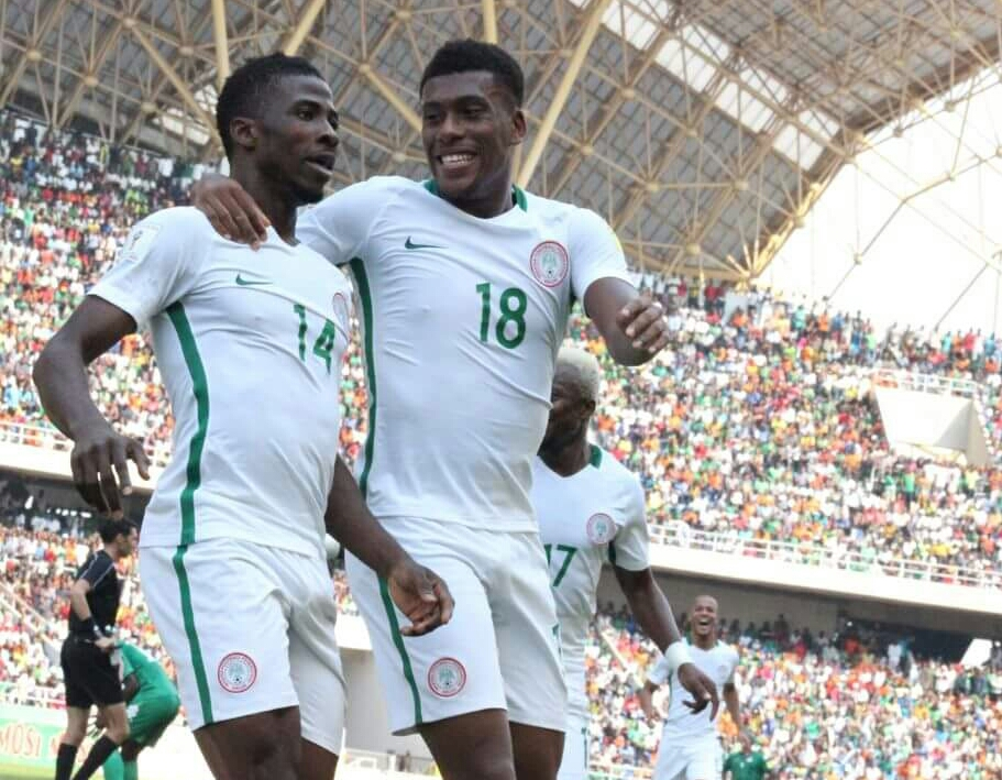 Iwobi 'Happy' To Bag Two Assists For Eagles Vs Togo