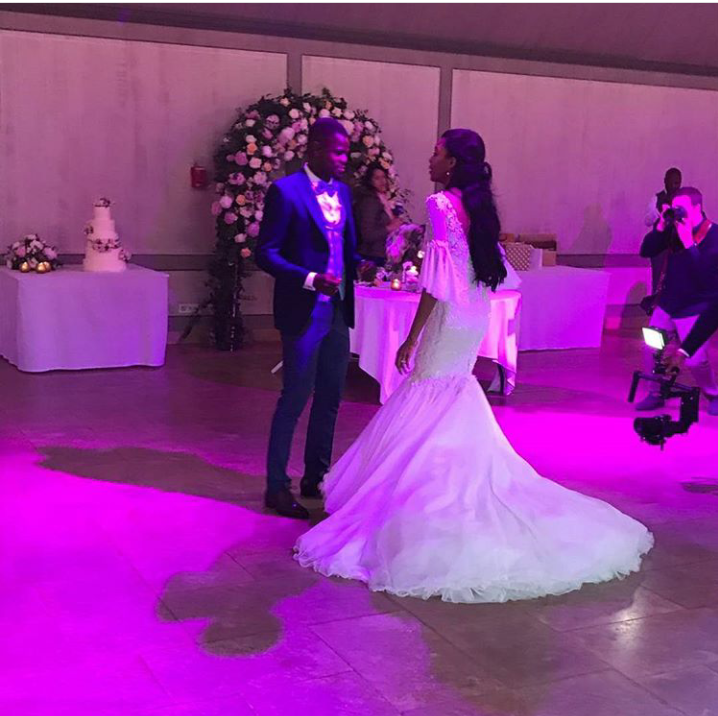 Super Eagles Star Echiejile Gets Married In France