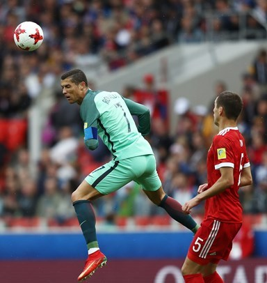 Confed Cup: Ronaldo's Header Takes Dominant Portugal Past Russia In Group A