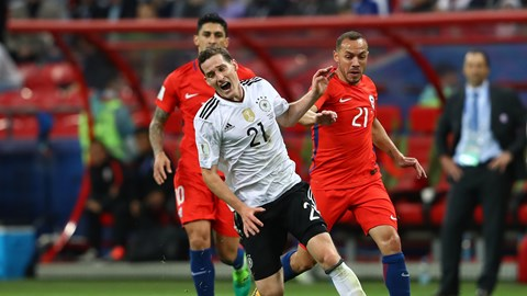 Confed. Cup: Germany, Chile End It 1-1, Amass Four Points Apiece In Group B