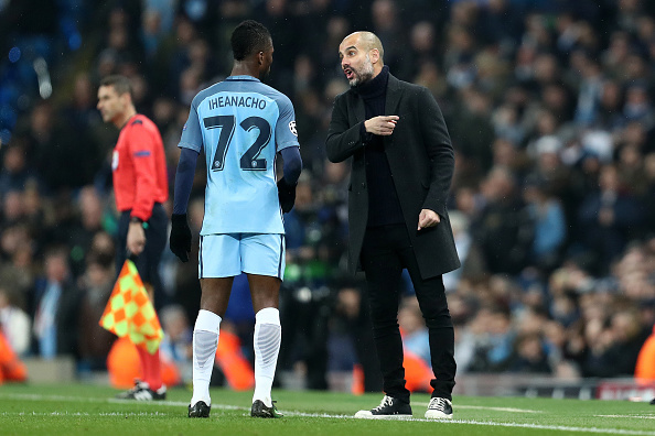 EXCLUSIVE Guardiola Wants To keep Iheanacho As City's Third-Choice Striker
