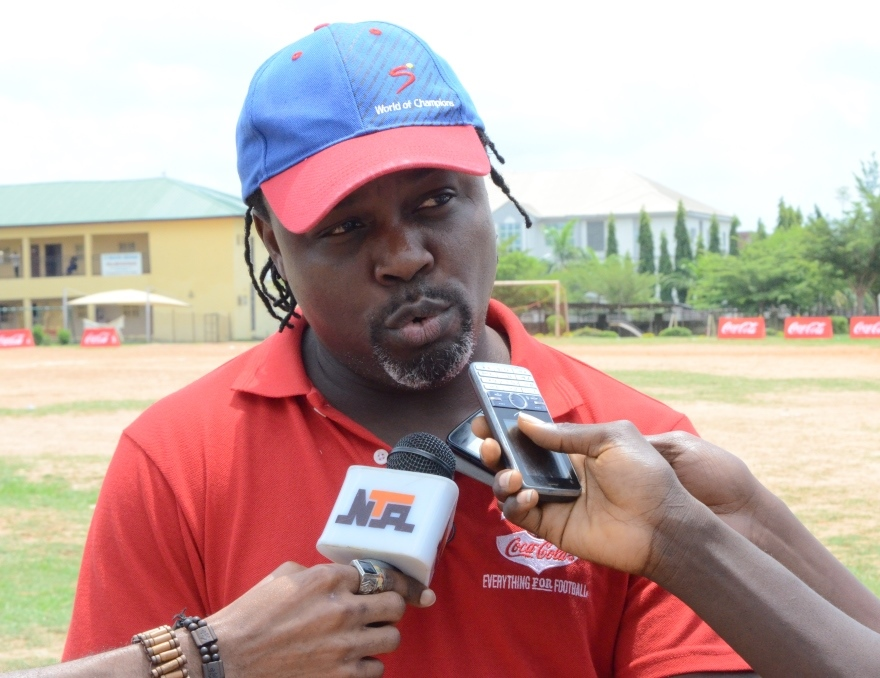 COPA Coca-Cola: Ikpeba Shows Prowesss At Coaching Clinic