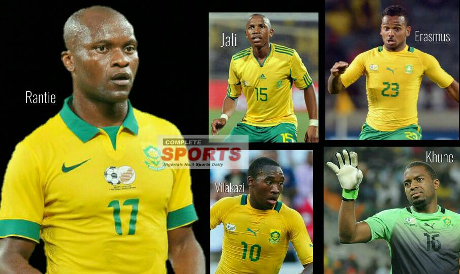 5 Bafana Stars To Watch Vs Super Eagles