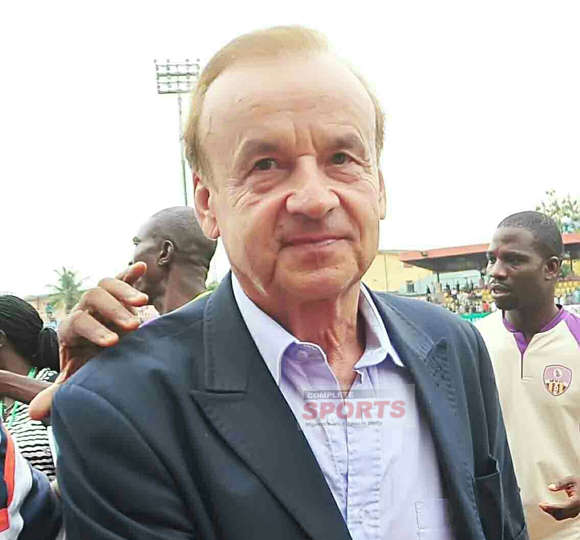 Rohr Will Not Take Charge Of CHAN Eagles — NFF