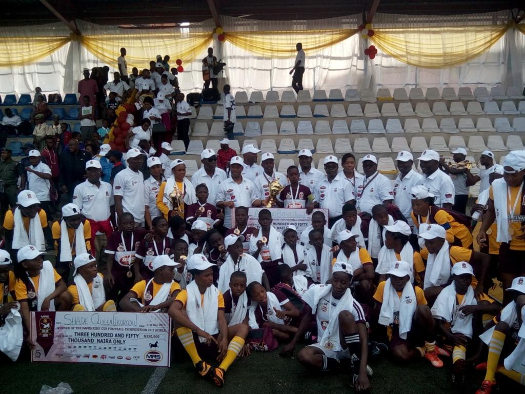 Amezon Boys Win MRS Kids Cup, N350k