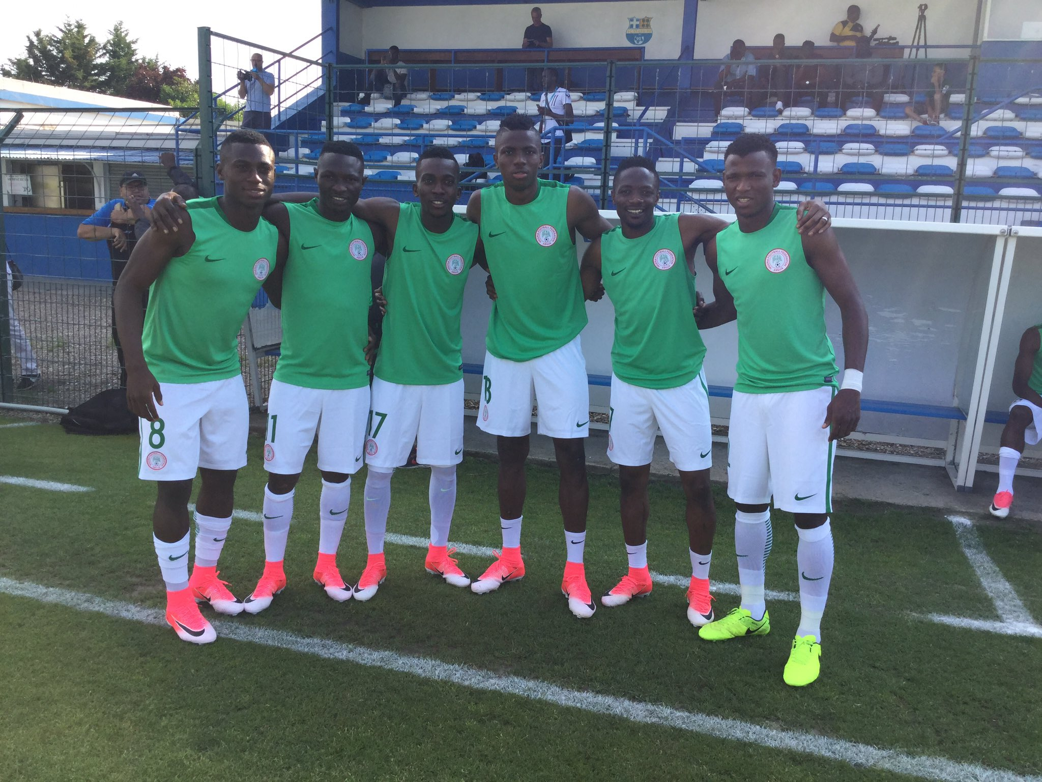 Musa, Abdullahi, Troost-Ekong ‎Confident Ahead South Africa Clash