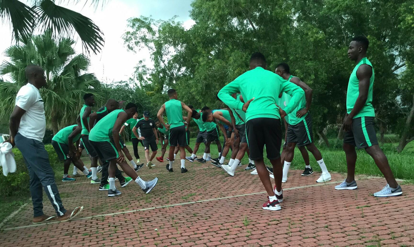 Osimhen, Al Hassan, Agu, Onyekuru Show Off Dancing Skills During Eagles Dinner