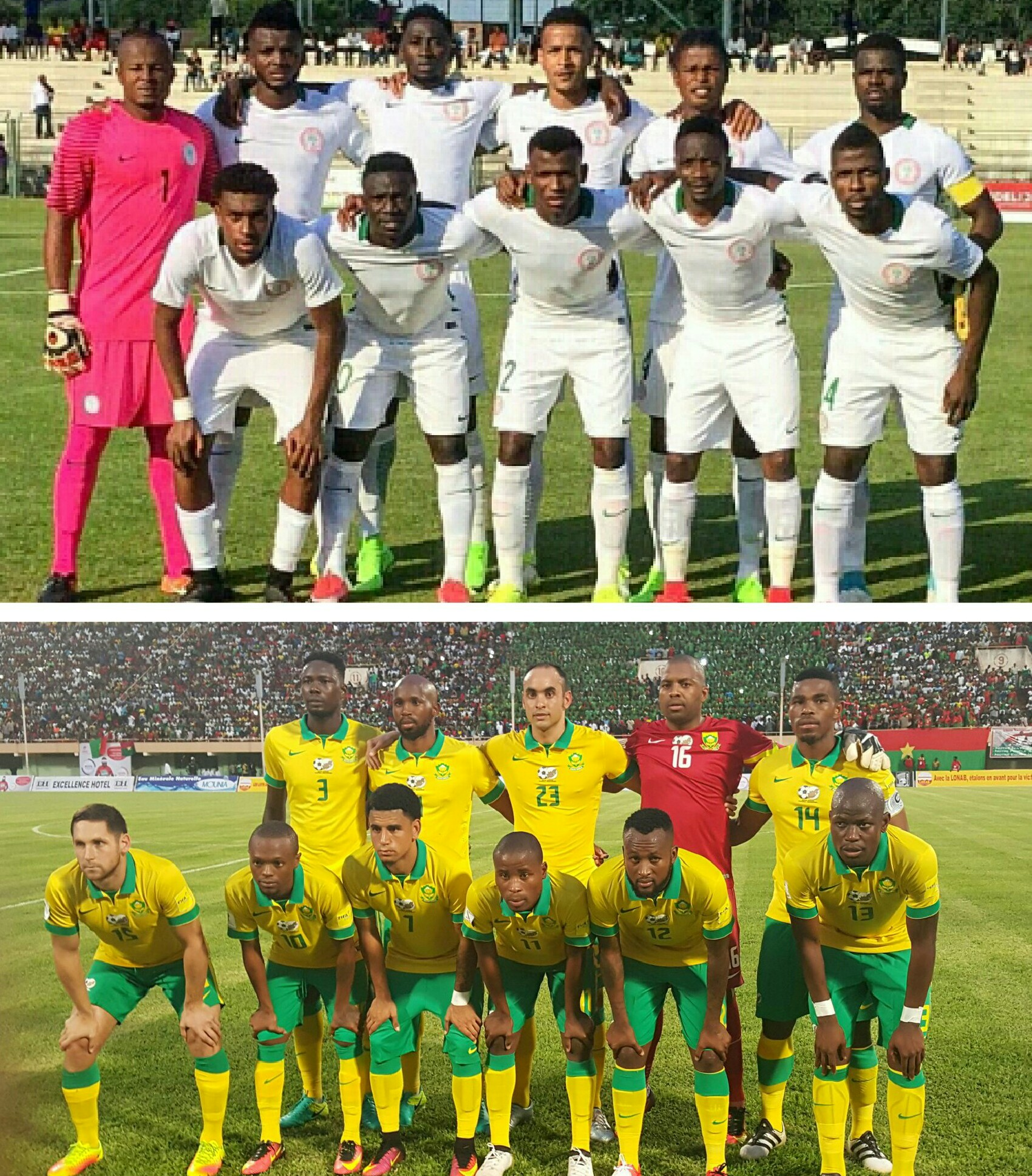 NIGERIA 7 – 1 SOUTH AFRICA: Eagles Dominate As Bafana Seek First Competitive Win In 2019 AFCON Qualifier