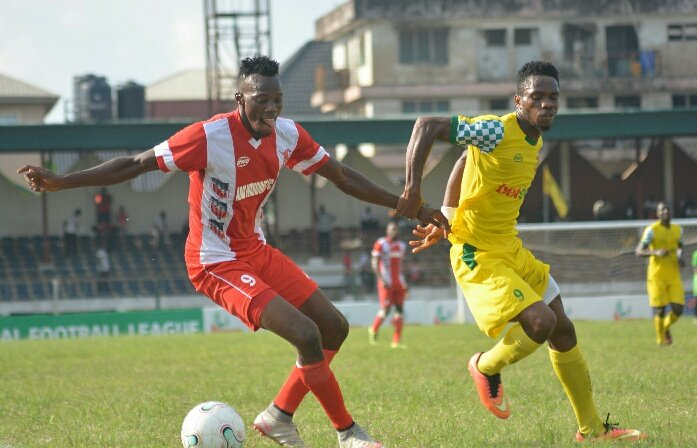NPFL: Remo Stars Hold Abia Warriors In Umuahia