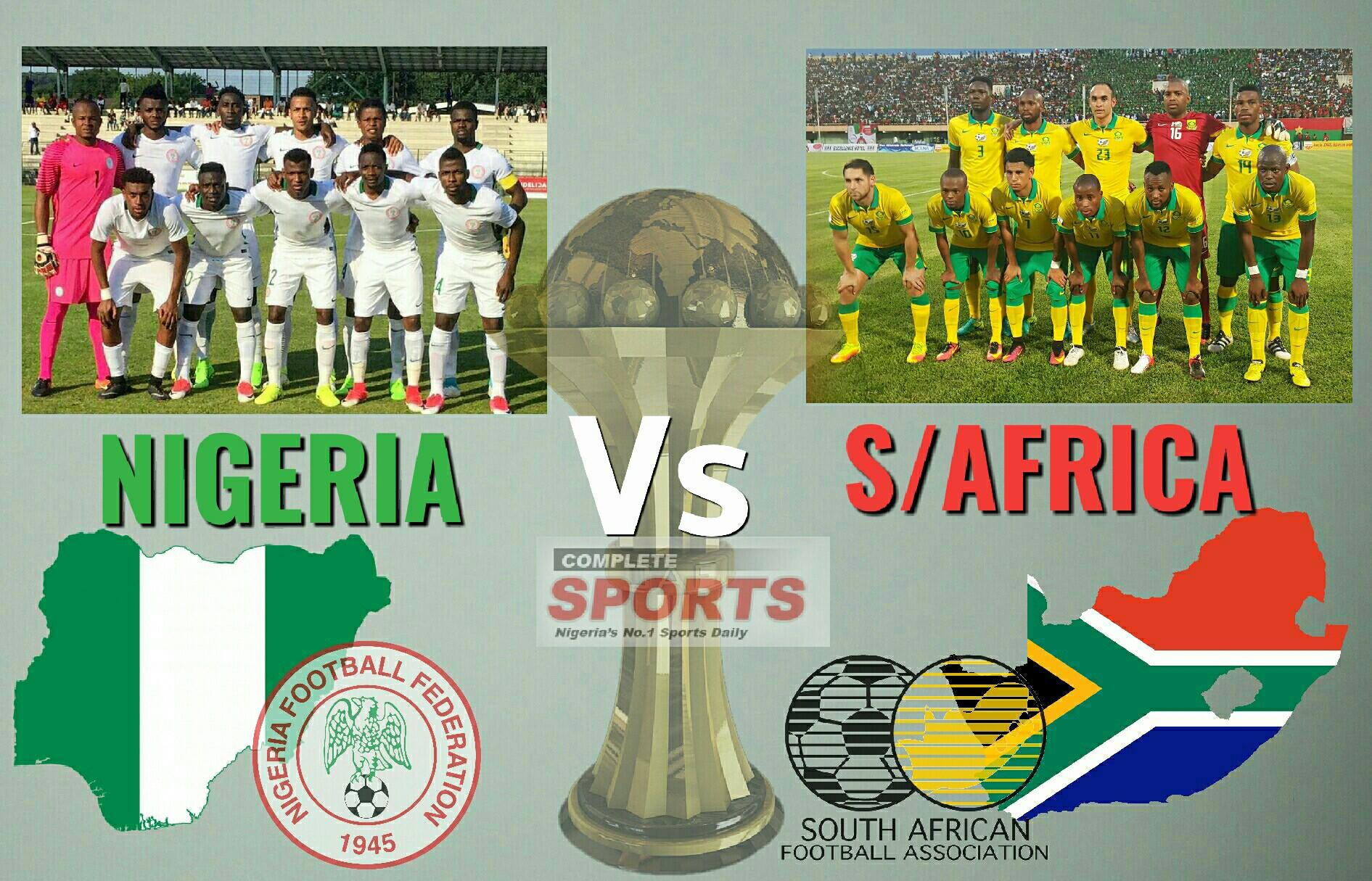 LIVE BLOGGING: Nigeria vs South Africa