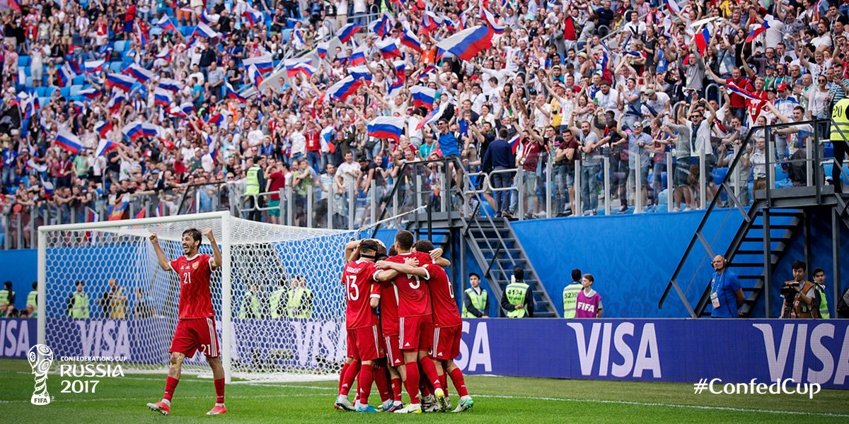 Hosts Russia Ease Past New Zealand In Confed Cup Opener