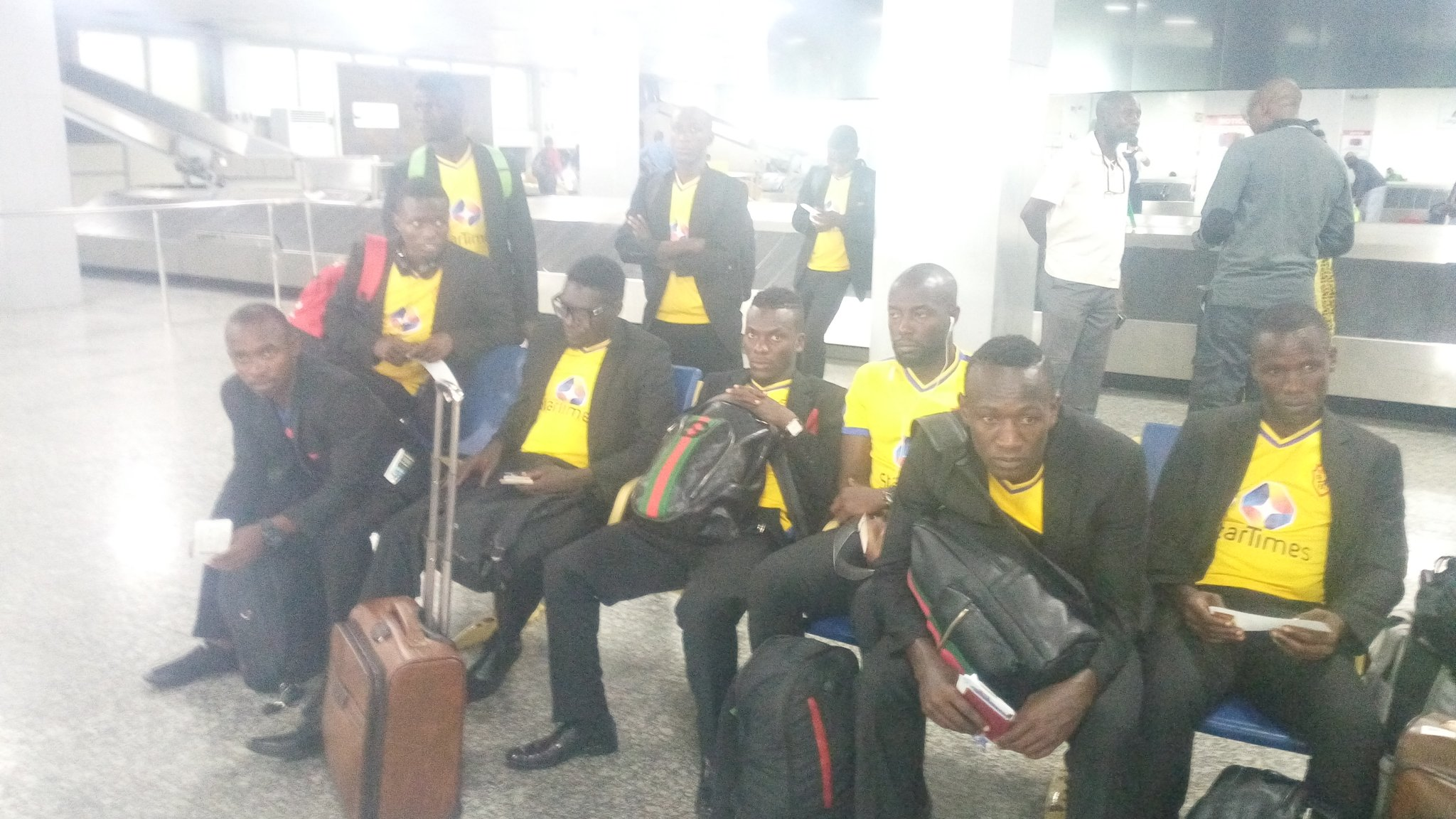 CAFCC: KCCA Arrive Port Harcourt For Rivers United Clash, Coach Mutebi Targets Away Win