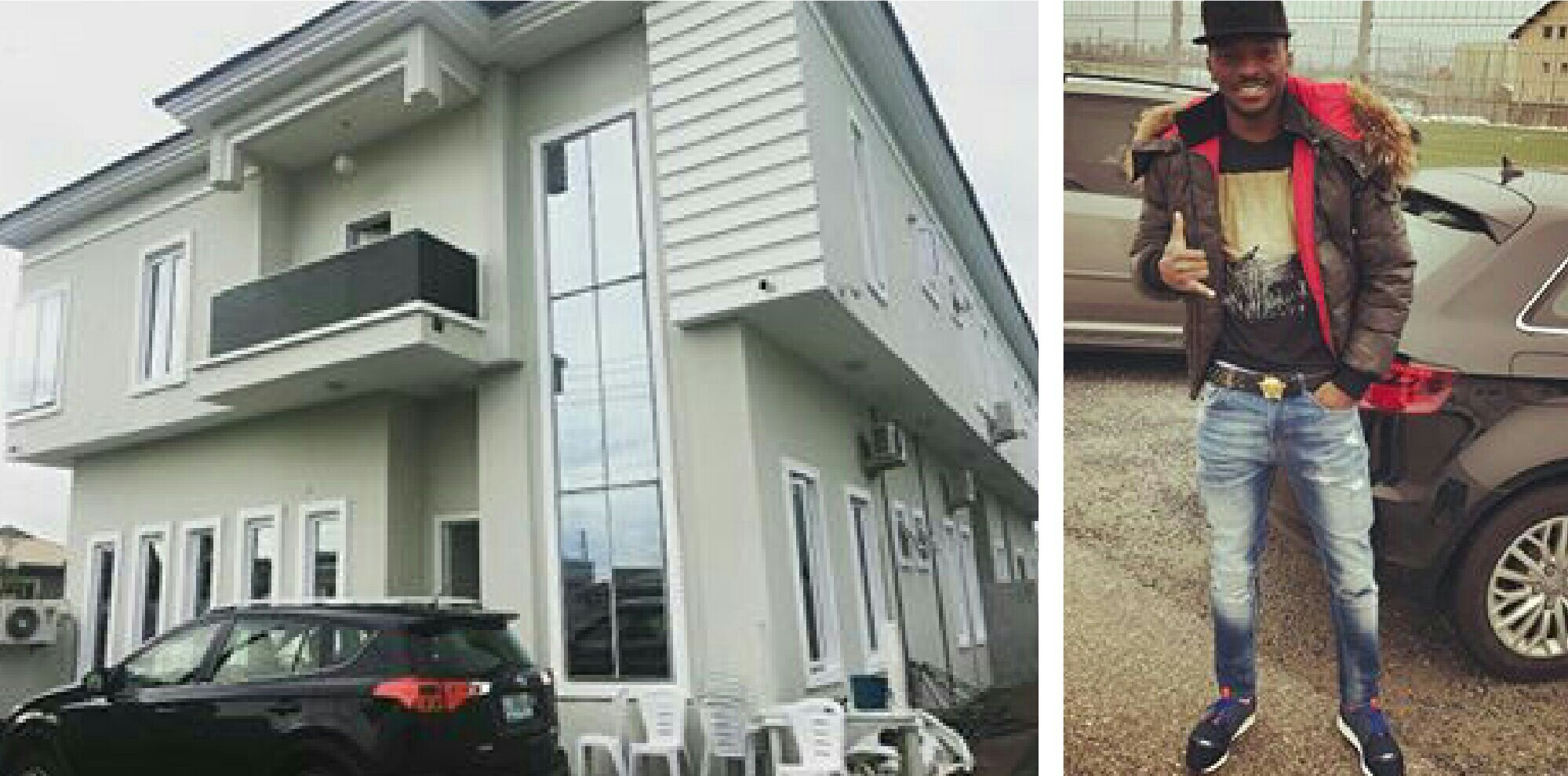Kayode Dedicates New Mansion In VGC Lagos