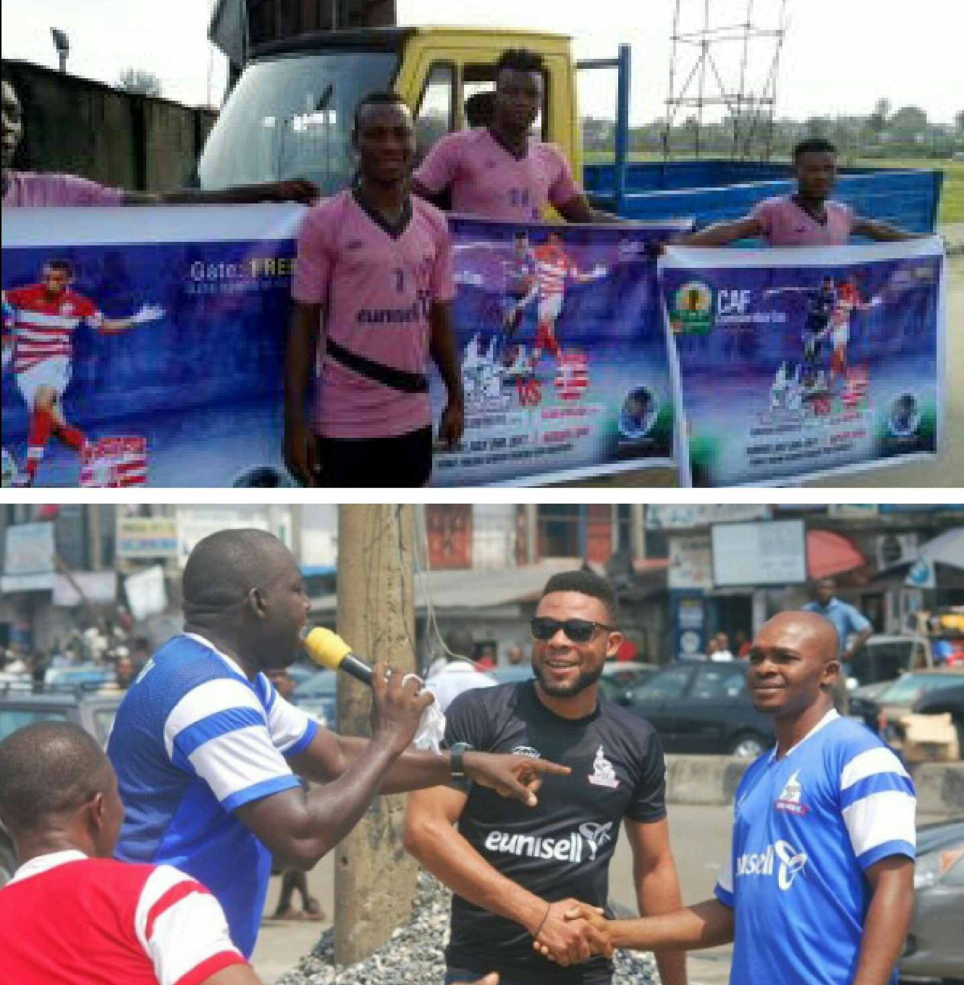 Rivers United Mobilise For Port Harcourt Fans' Support With Road Shows
