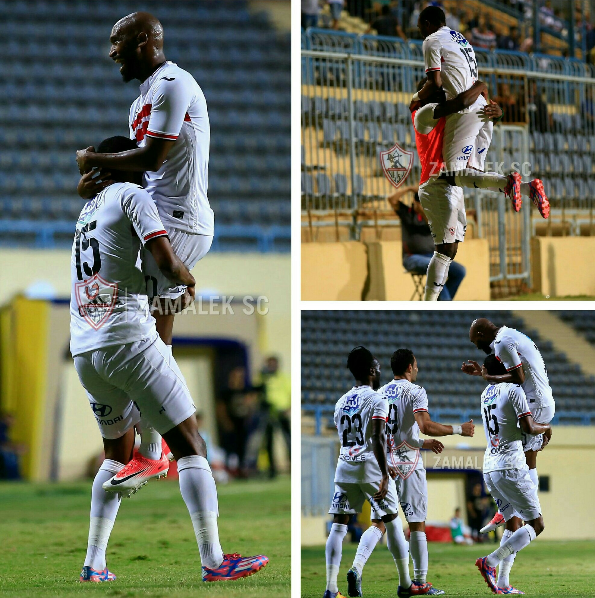 Ohawuchi, Yussuf On Target In Zamalek's 2-0 Win