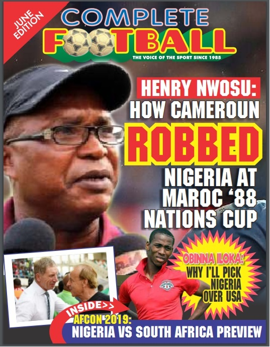 Henry Nwosu: How Referee Gave Cameroun 1988 AFCON