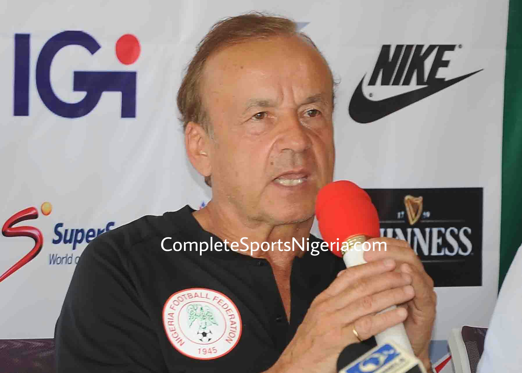 Rohr: Eagles Will Miss Mikel, Moses, Ikeme Vs Bafana But No Problem