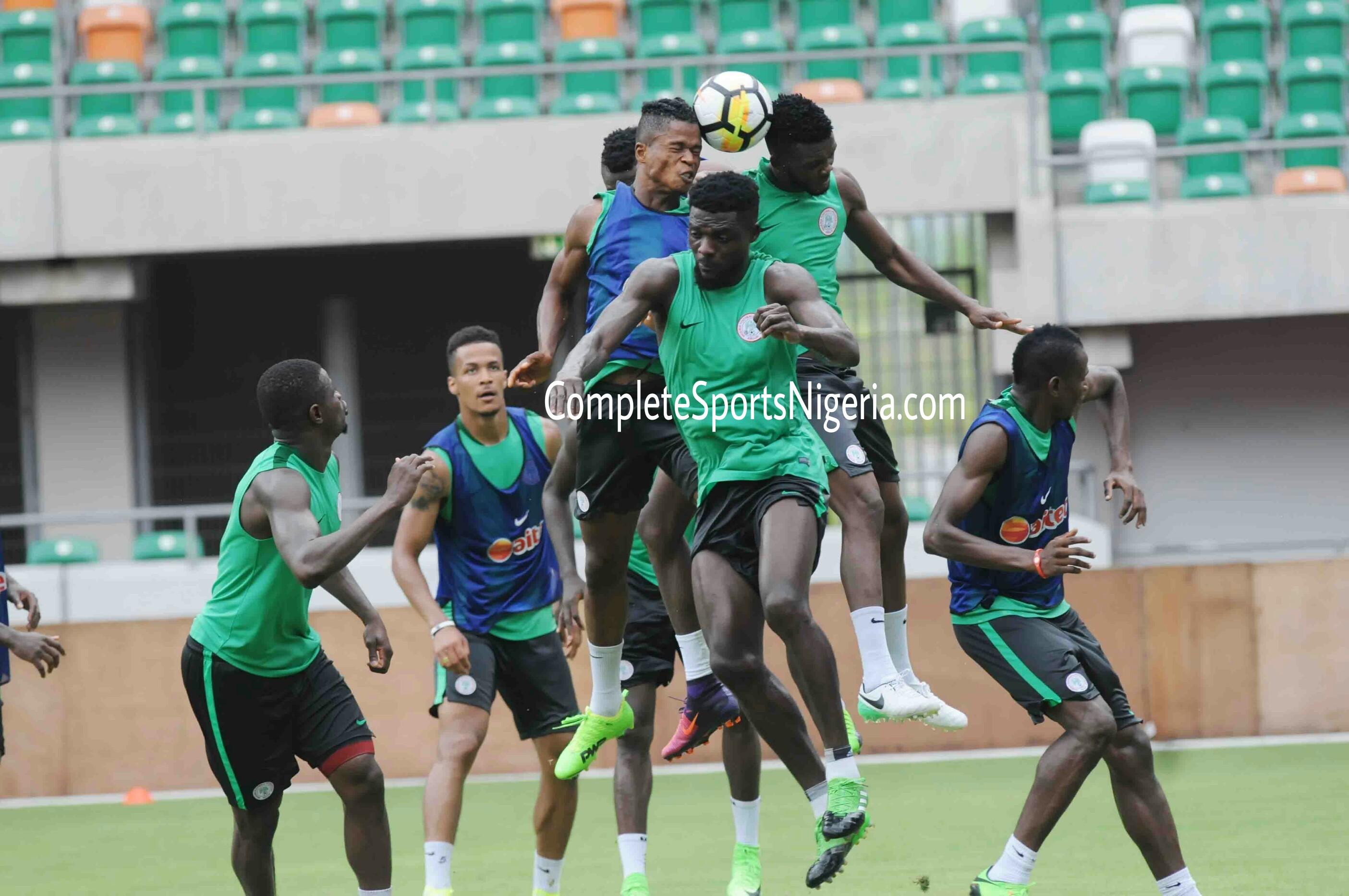 Eagles XI Vs Bafana: Ndidi, Awaziem, Iheanacho, Etebo, Iwobi Start; Omeruo, Musa Benched