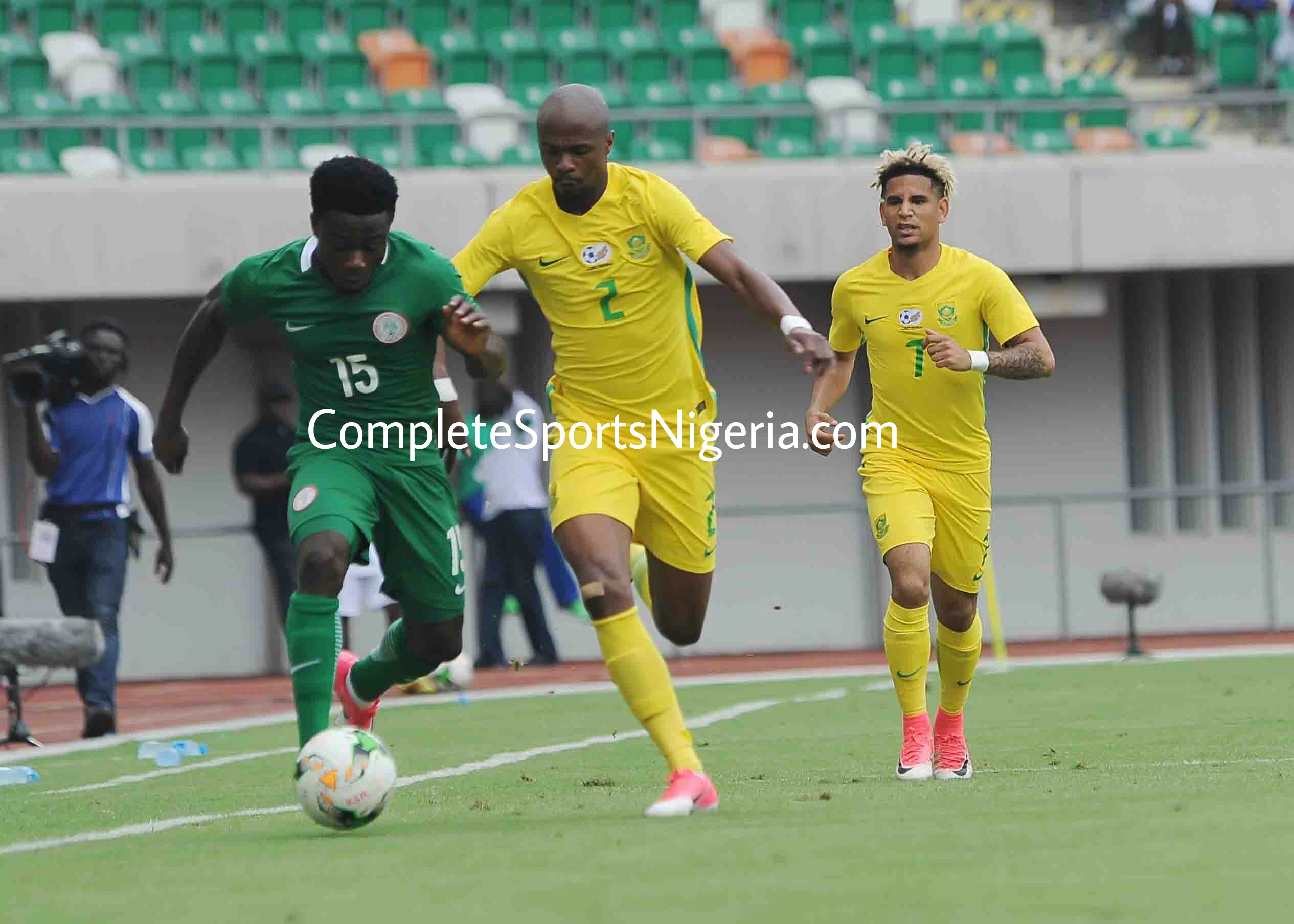 Etim Esin: Organised Bafana Bafana Deserved To Beat Super Eagles