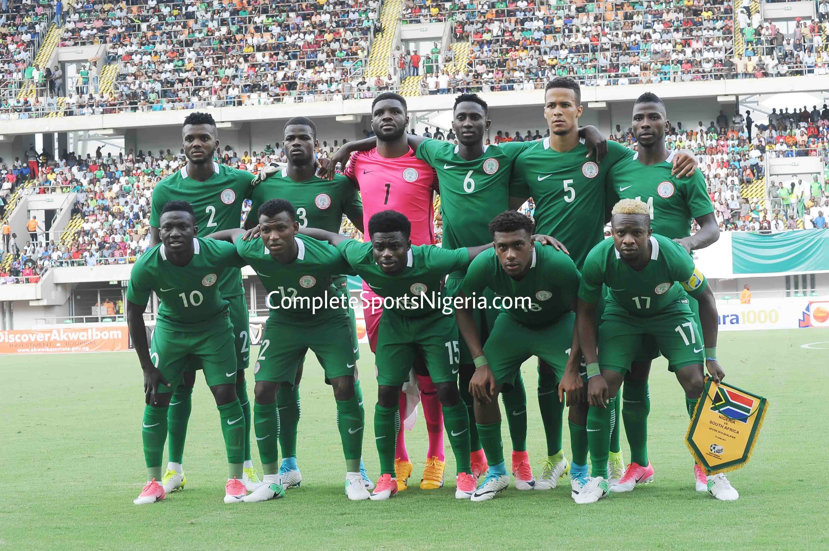 BELOW AVERAGE: How Super Eagles Players Rated Vs South Africa