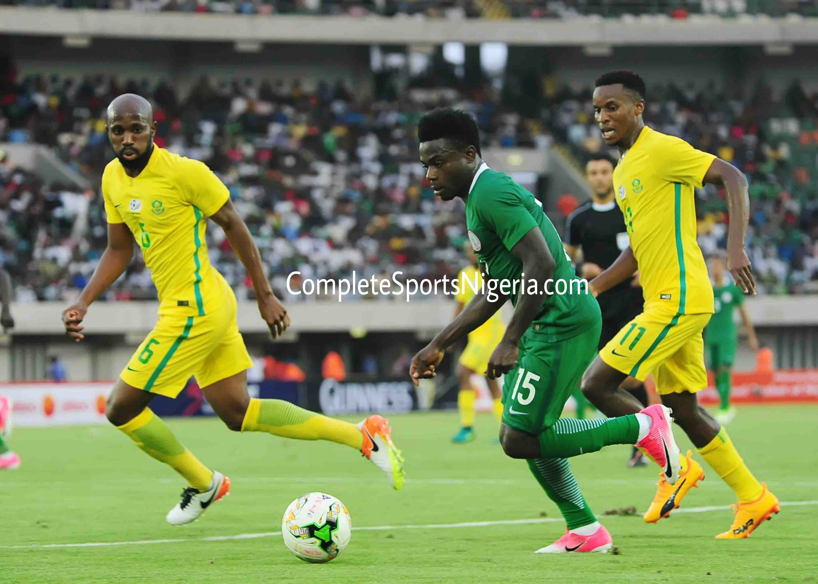 Bafana Midfielder Zungu: We Played Smart To Beat Super Eagles