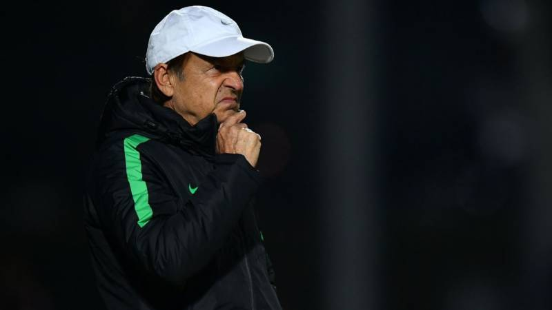 Rohr: Super Eagles Will Defeat Bafana In Honour Of Late Keshi